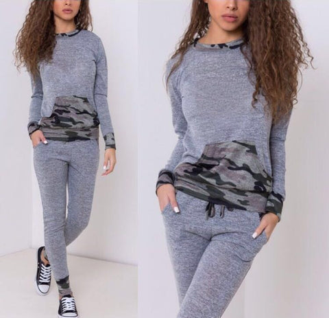Grey Sporty Trousers