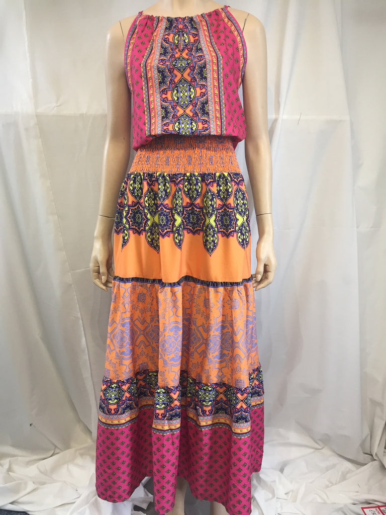 Maxi Dress with Print