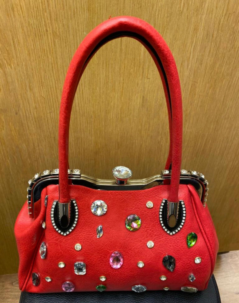 Red Bag With Gem Accessory's