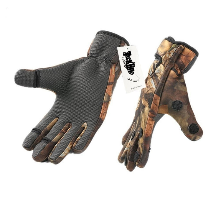 Anti-Slip Fishing Gloves