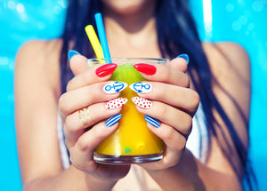 How to create party-ready nails for your customers with Chroma gel polish