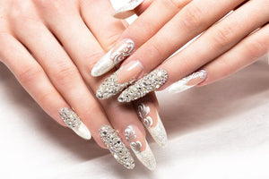 Nail art designs for weddings