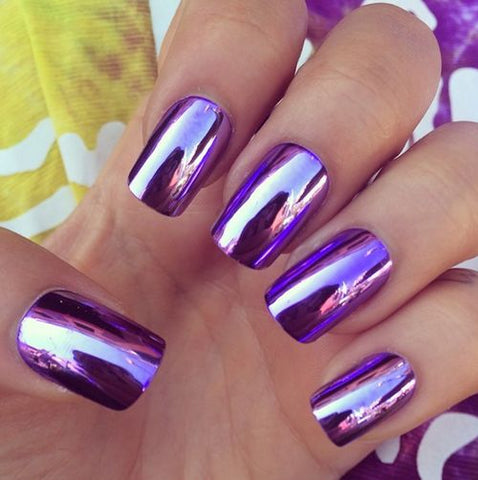 Mirror Effect Nails