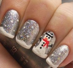 Christmas Nails Gel.Our Top 5 Nail Designs This Christmas