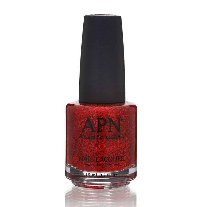 APN | Always Perfect Nails | Red Rings | Nail Polish No.6