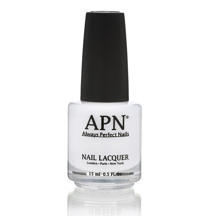APN | Always Perfect Nails | White Salt | Nail Polish No.1.