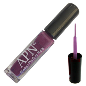 APN Nail Art Liner for Nail Polish Design line - Pearl Purple - Chroma Gel