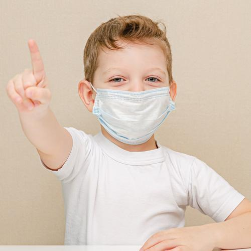 Disposable Face Masks for kids, child size 25 per Pack