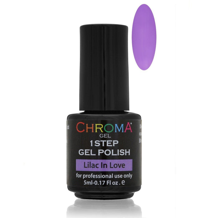 Chroma Gel 1 Step Gel Polish 5ml Lilac In Love No.57