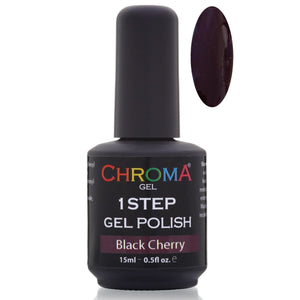 Chroma Gel 1 Step Gel Polish Black Cherry No.29 - Chroma Gel