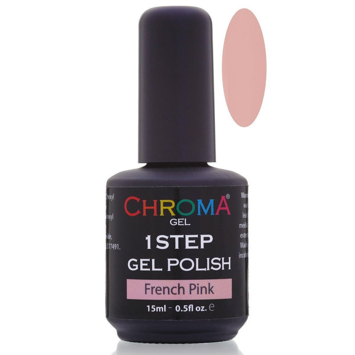 Chroma Gel 1 Step Gel Polish French Pink No.2