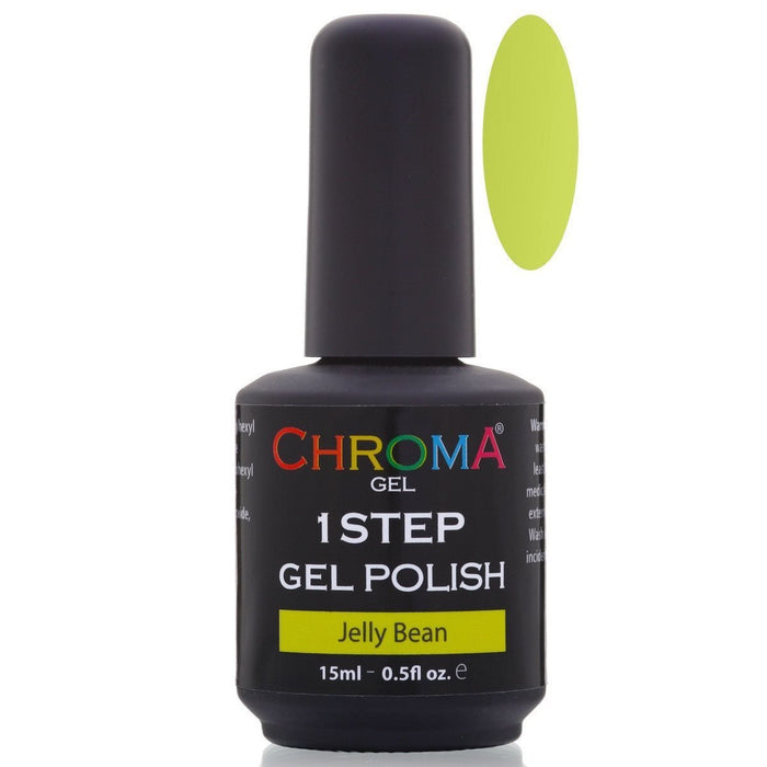 Chroma Gel 1 Step Gel Polish Jelly Bean No.4