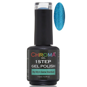 Chroma Gel 1 Step Gel Polish My Lilly's Gone Stardust No.72 - Chroma Gel