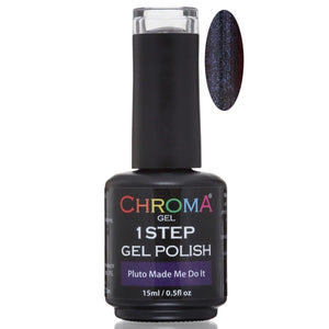 Chroma Gel 1 Step Gel Polish Pluto Made Me Do It No.74 - Chroma Gel
