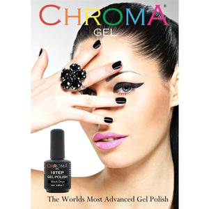 Chroma Gel 1 Step Gel Polish Salon Poster - Chroma Gel