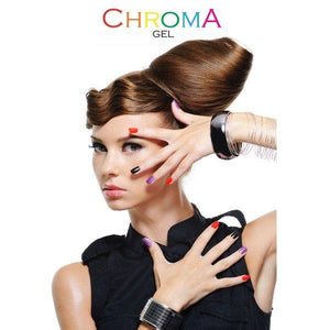 Chroma Gel Salon Poster Be Fabulous - Chroma Gel