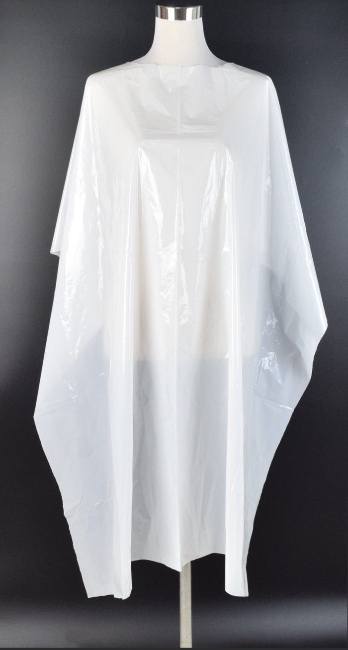 Disposable Gown Cape for Salon and Barber Clients 50 or 100 pack
