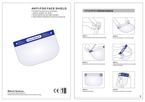 Face Shield - Chroma Gel