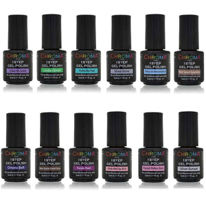 Gel Polish 5 ml Collections 12 x 5ml - Chroma Gel