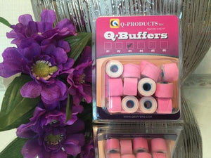 Q-Buffers | Nail Drill Buffer | Manicure - Pedicure - Chroma Gel