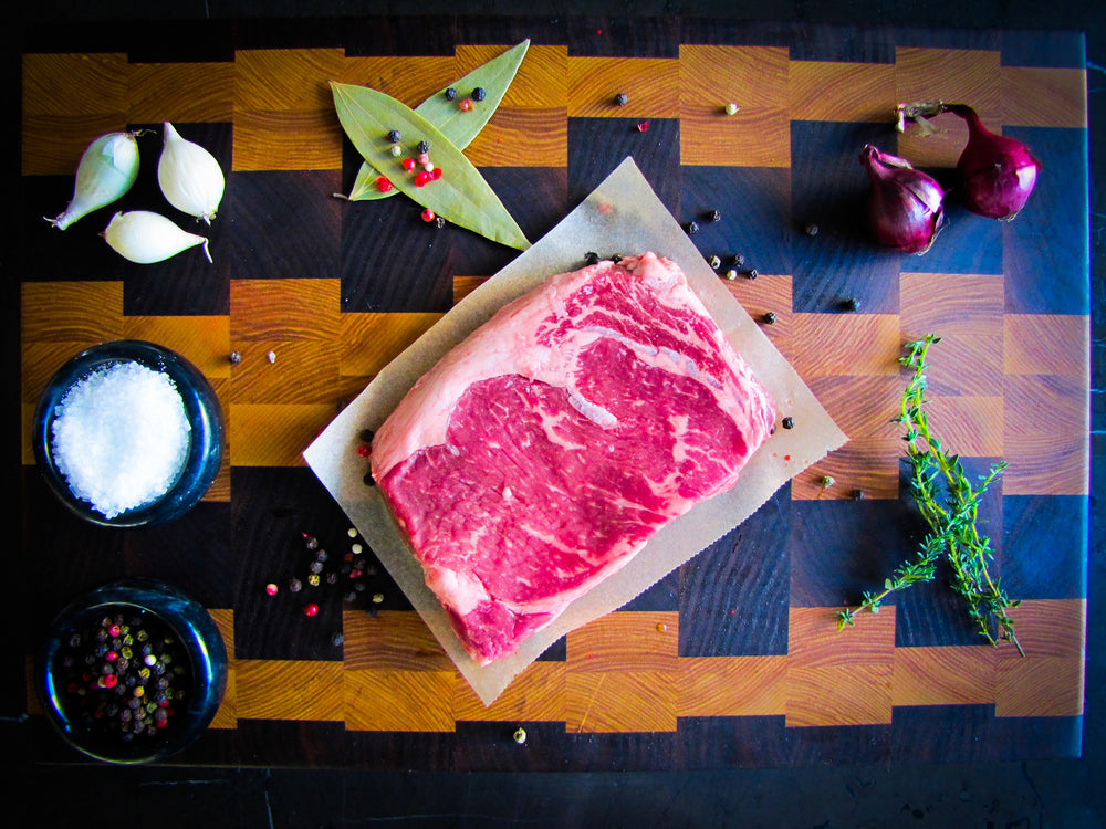 Load image into Gallery viewer, Raised Without Antibiotics (RWA) AAA Angus Ribeye (10oz)