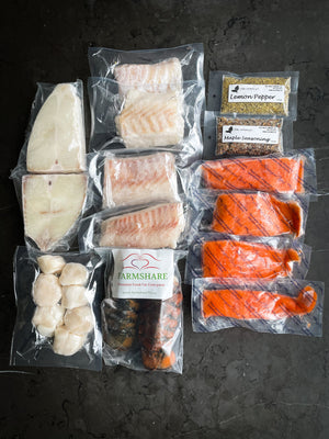 Wild Caught Sustainable Seafood Box