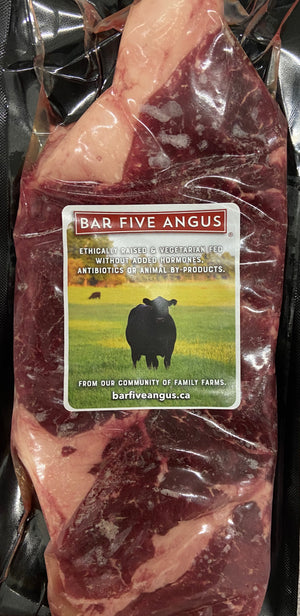 Raised Without Antibiotics (RWA) AAA Angus Striploin (10oz)