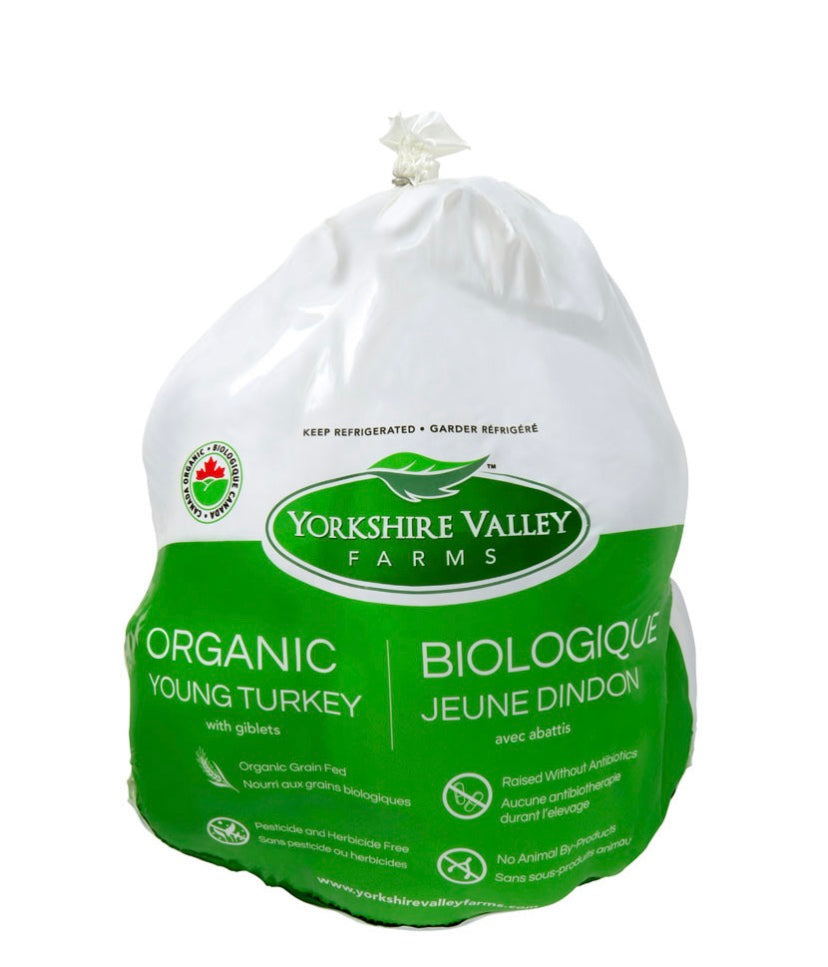 Fresh Organic Yorkshire Valley Farms Turkey