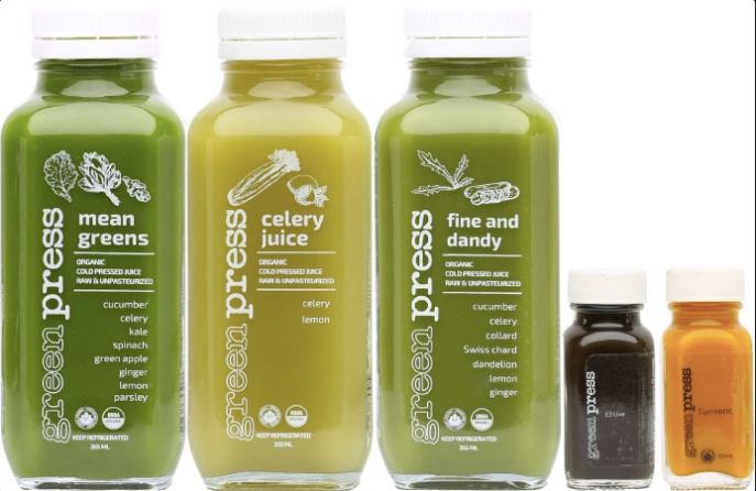 Green Press Juice Cleanse - Keto Cleanse