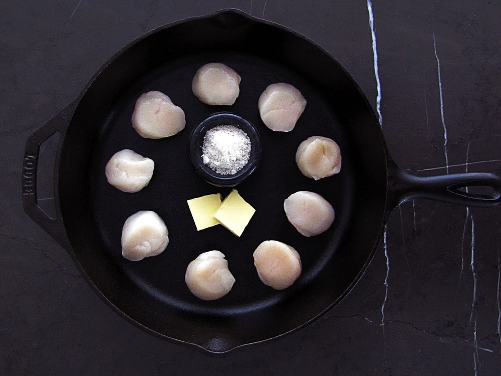 Load image into Gallery viewer, Newfoundland Diver Scallops (1lb)