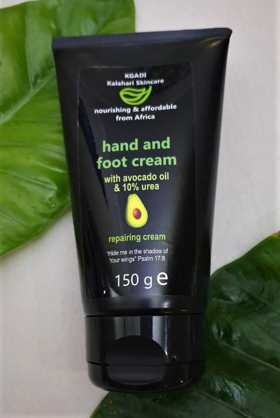 hand and foot cream, avocado oil, natural, skincare, urea, foot cream, hand cream, body cream, lotion