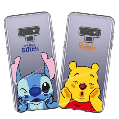 2 X Coque Samsung Galaxy Note 9 Grossier Mickey Doux Souple