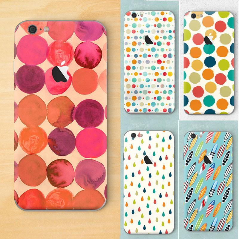 2016 Fashion Silicon shell Geometric pattern Soft Tpu Back Cover For Apple Iphone 6 6s Phone Case Raindrop Round image Coque