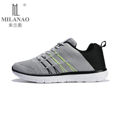 2016 MILANAO Damping Mens Running Shoes Breathable Outdoor Walking Sport Shoes New Mens Athletic Sport Sneakers Free Shipping
