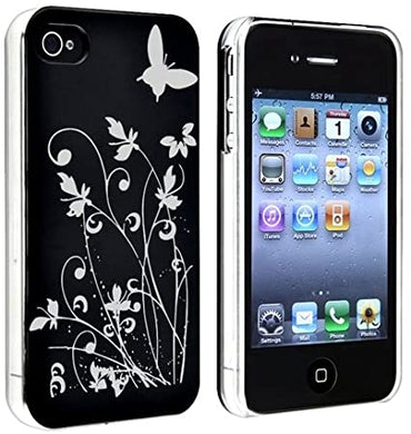 coque rigide iphone 4 papillons en vente