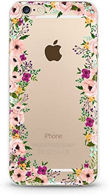 Coque IPHONE 6 6S LED Selfie Fleur Believe Liberty Light
