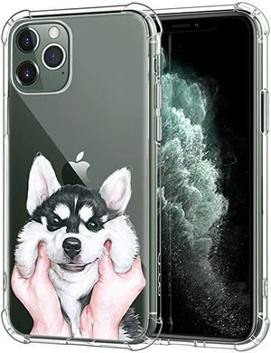 Zhuofan Plus Coque iPhone 11 Pro Silicone Transparente avec Motif Design  Antichoc Coussin d'air Housse TPU Souple Airbag Shockproof Case Cover pour  Telephone Apple iPhone 11 Pro 58