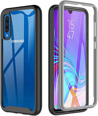 Coque Samsung Galaxy A70 Housse Etui 360° Protection Intégrale TPU  Transparente