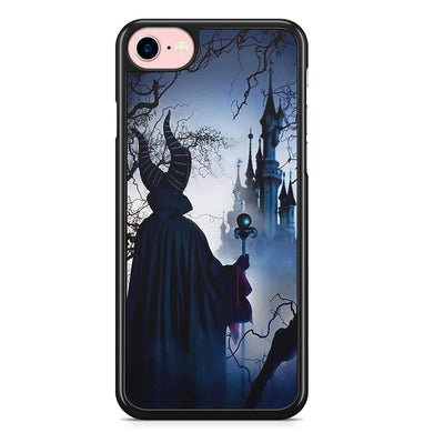 Coque iPhone 4S 5S SE 5C 6S 7 8 Plus X XS MAX XR Stitch Disney Maleficent  Maléfique c