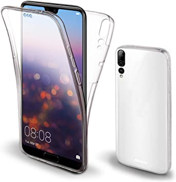 COQUE HUAWEI P20 PRO INTEGRALE FULL TRANSPARENT SILICONE SOUPLE (TPU)