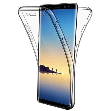 Coque Gel Samsung Galaxy Note 8 Coque 360 Degres Protection INTEGRAL Anti  Choc  Etui Ultra Mince Transparent INVISIBLE