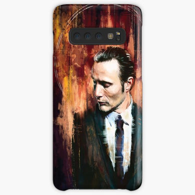 Sharply Dressed: Hannibal Samsung S10 Case