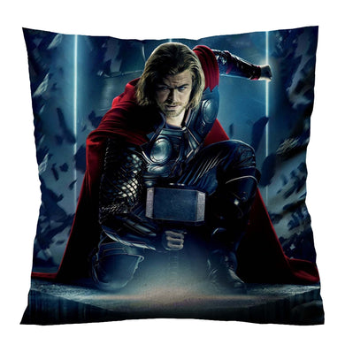 THOR LOKI IN ACTION Housse de coussin