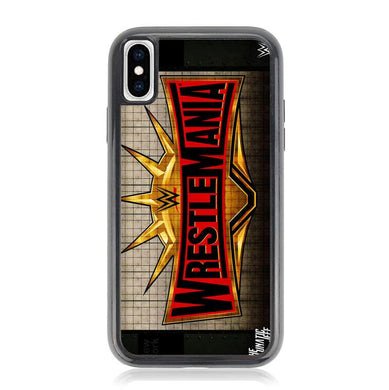 WWE WrestleMania 35 Z4586 iPhone XS Max coque