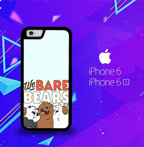 Full Team We Bare Bears O0977 coque iPhone 6, iPhone 6S
