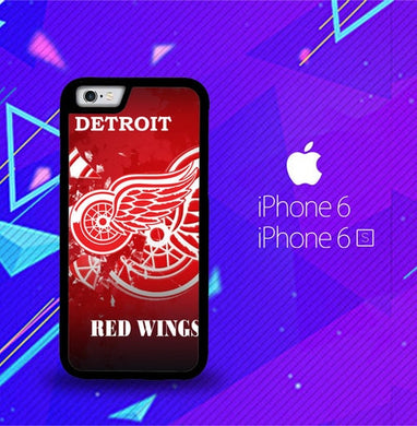 Detroit Red Wing O3098 coque iPhone 6, iPhone 6S