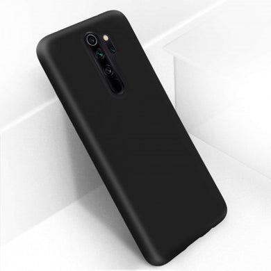 Coque Xiaomi Redmi Note 8 Pro Silicone Semi-rigide Finition Soft Touch noir