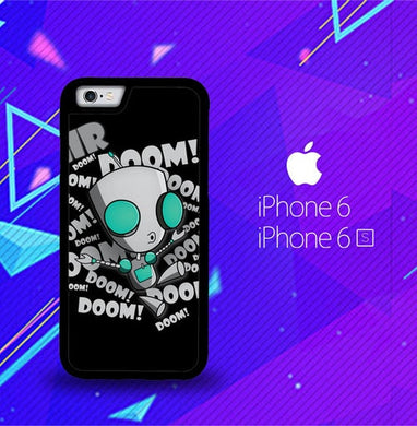 invader zim gir doom song Z0621 coque iPhone 6, iPhone 6S