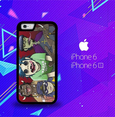 Gorillaz F0846 coque iPhone 6, iPhone 6S
