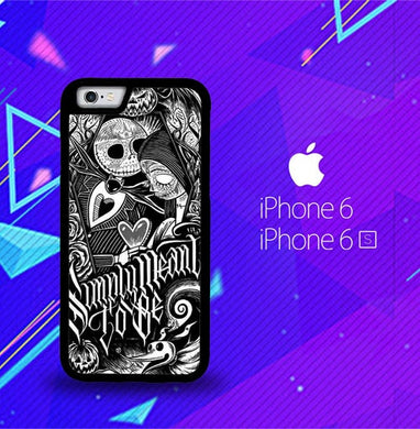 Jack And Sally Muertitos The Nightmare Before Christmas F0874 coque iPhone 6, iPhone 6S